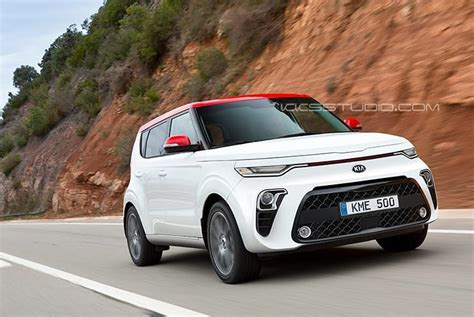 2020 Kia Soul Brochure 2020 kia soul rendered looks sharp without tiger nose
