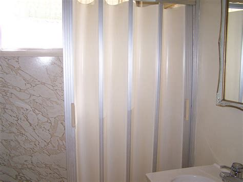 Shower Folding Door Folding Accordion Tub And Shower Doors Retro Renovation