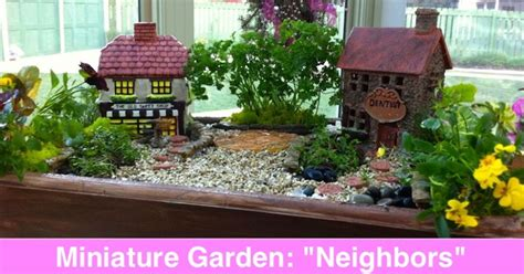 Miniature And Fairy Garden Design Ideas By Shirley Bovshow Mini Garden Ideas