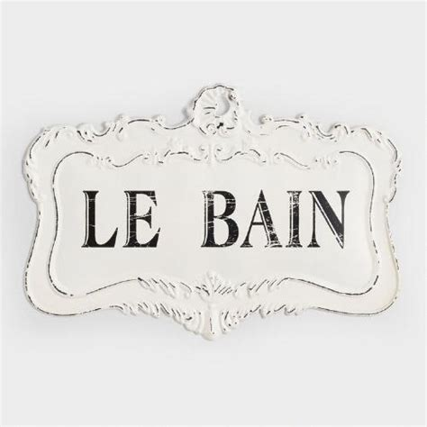 le bain sign world market