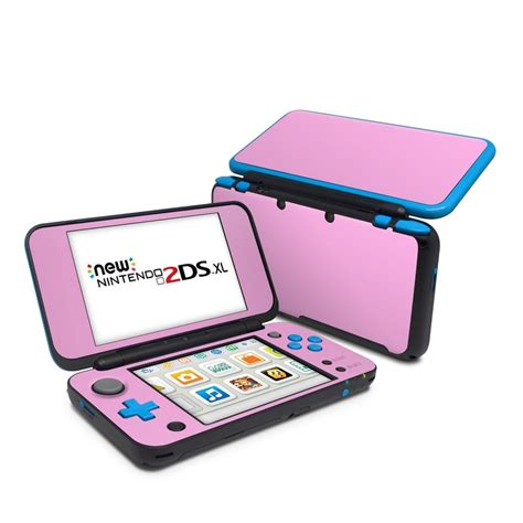 nintendo 2ds colors nintendo 2ds xl skin solid state pink by solid colors
