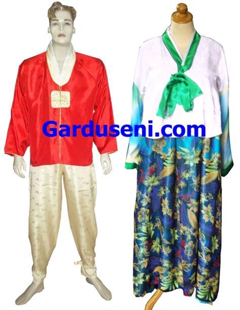 Hanbok Baju Korea Kostum kostum korea gardu seni pusat sewa kostum baju dan