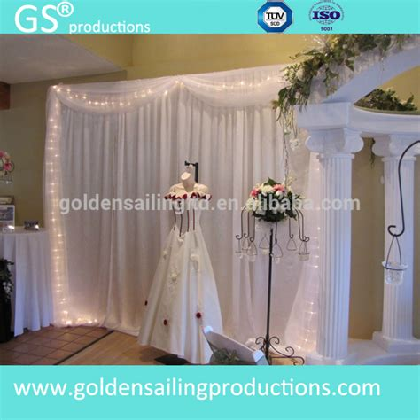 pipe and drape system for sale decorative wedding backdrop stand pipe and drape system