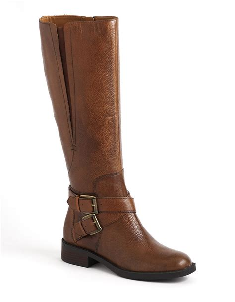 enzo boots enzo angiolini sporty leather boots in brown