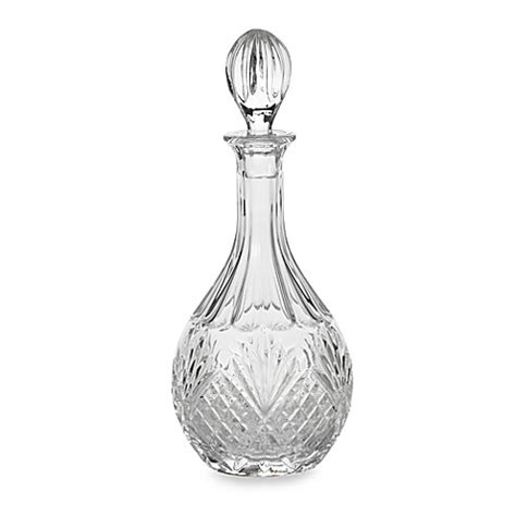 bed bath and beyond dublin godinger dublin crystal wine decanter bed bath beyond