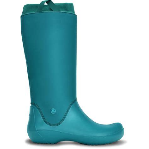 croc boots crocs rainfloe boot juniper exceptionally light boot