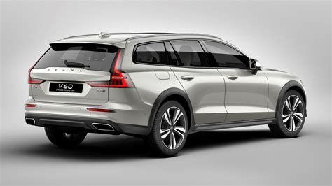 Volvo 2019 V60 Cross Country by 2019 Volvo V60 Cross Country Unveiled With Rugged Looks