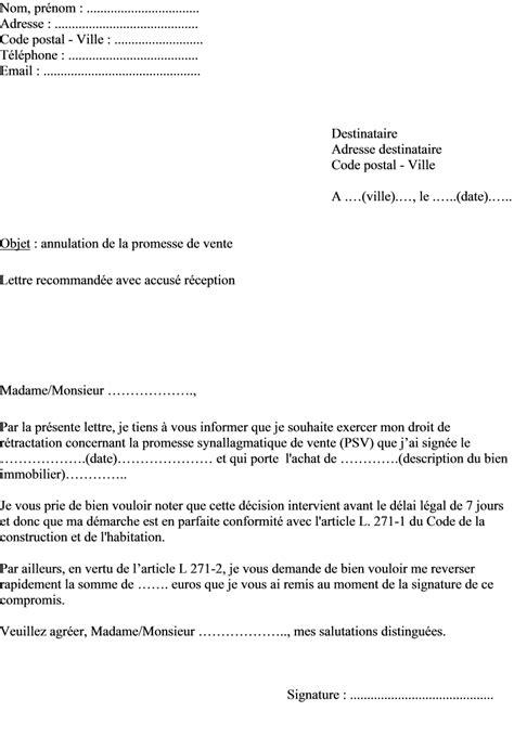 Modele Compromis De Vente Agence Immobiliere