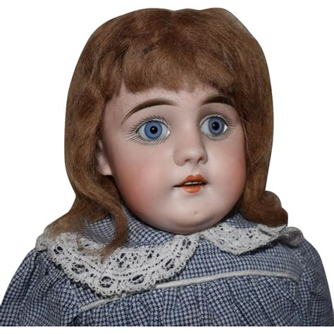 early bisque doll early german square tooth bisque doll by kestner from