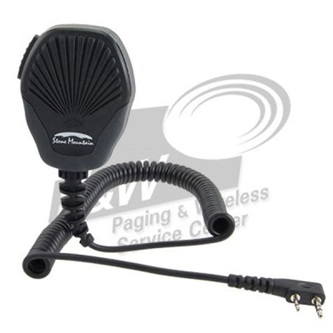 Mic Meja Kenwood Kw 500 mountain speaker mic fits kenwood portable radios