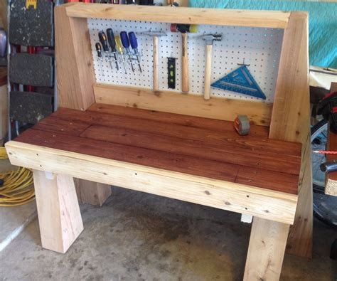 wooden bench for kids kids wooden workbench 4