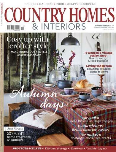 Country Homes And Interiors Subscription Country Homes Interiors Magazine November 2013