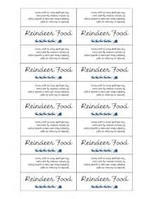Magic reindeer food labels reindeer food reindeer food printable tags