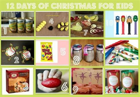 12 days christmas gifts for kids