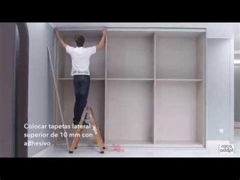 casa adapt montaje armario puertas correderas  guias youtube