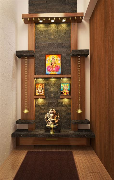 Interior Design For Mandir In Home by Cgarchitect Professional 3d Architectural Visualization