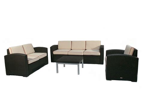 cielo patio sofa loveseat chair table package