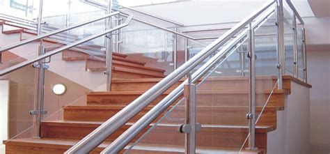 Steel Handrail Systems Railings And Balconies Blackpool Fylde Glass