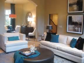 brown and turquoise living room ideas living room