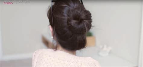 Cepol Korea Bun Size L tutorial rambut cepol ala di drama korea unik