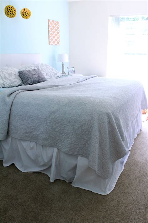 how to make a bed skirt how to make a bed skirt no sewing