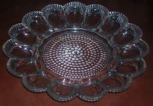 glass egg plate with a southern twist living in today s south 187 deviled eggs and plates