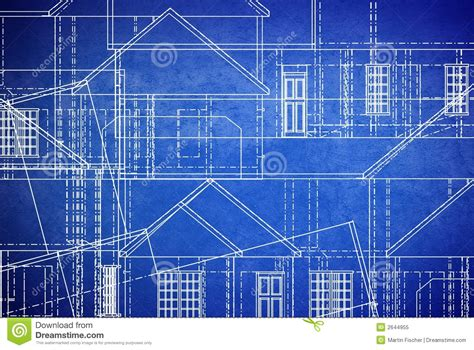 Garage Blue Prints by Blueprints Royalty Free Stock Photo Image 2644955