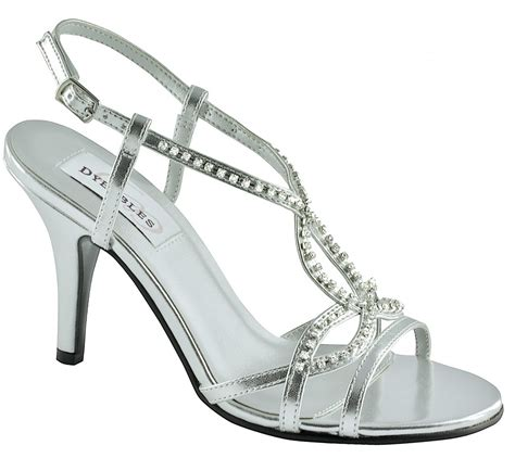 silver bridesmaid shoes ipunya