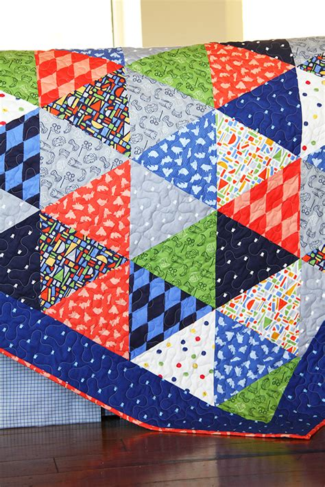 Triangle Quilt Tutorial Sarah Jane Studios Triangulations Template Quilt Pattern