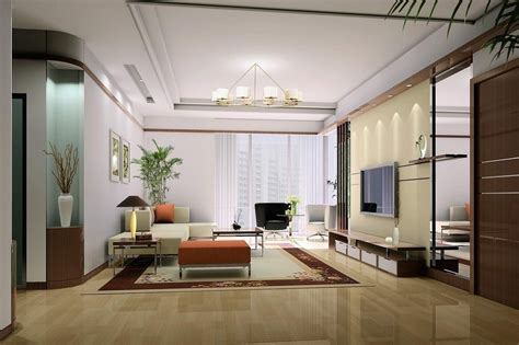 chinese modern minimalist living room interior design 3d retro and modern living room design by chinese style