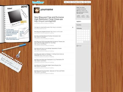 free twitter background templates in photoshop psd wood