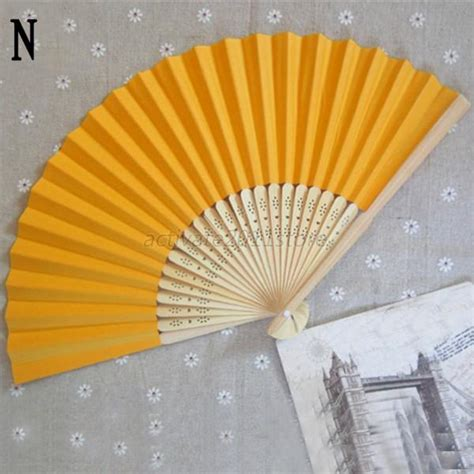 Handmade Paper Fans - wholesale paper folding bamboo fan fans
