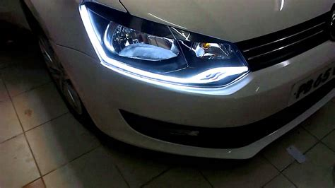 volkswagen polo headlights modified volkswagen polo vento custom headlights