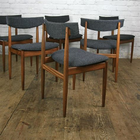 G Plan Dining Room Furniture 6 Vintage G Plan Dining Chairs By Kofod Larsen Mustard Vintage