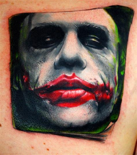 batman tattoos joker tattoos
