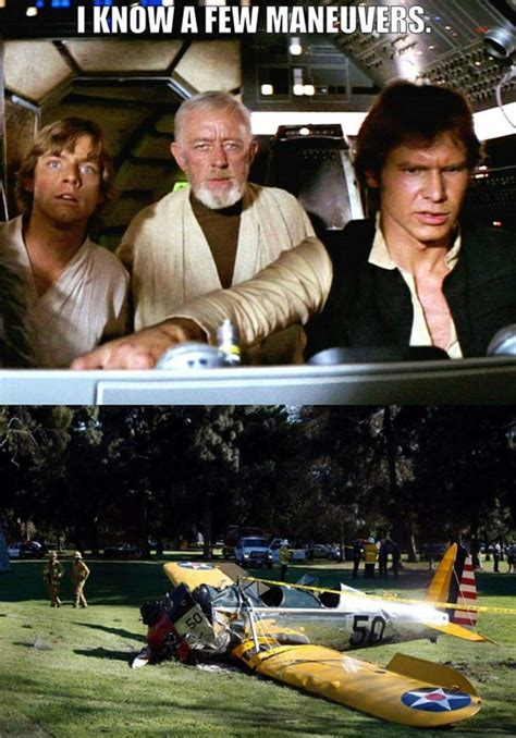Crash Meme - hilarious memes after harrison fords plane crash daily
