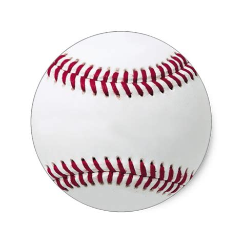 printable baseball stickers baseball stickers add your message zazzle com