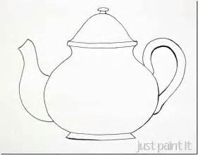 Teacup Outline Drawings by Sketching A Simple Teacup Crafting Coloring And Sketching