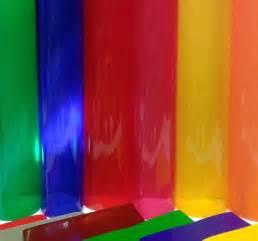 1m roll transparent coloured window film self adhesive vinyl sticky