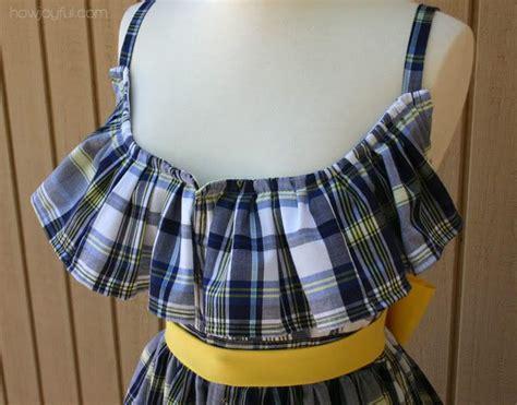 upcycled clothing tutorials joyful upcycled summer dress tutorial sewing