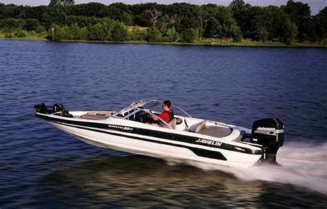 best quality fish and ski boats javelin renegade 20 fish ski one two punch boats