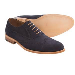gordon rush foster suede dress shoes wingtip for men