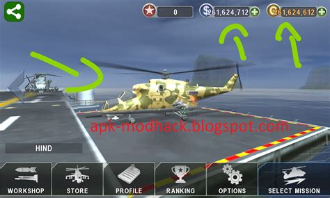 download game gunship battle mod apk offline gunship battle helicopter 3d mod apk unlimited money