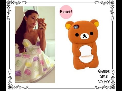 what kind of phone does ariana grande have free ariana grande bear case give away closed youtube