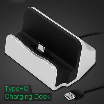 Hoco Desktop Charger Charge Dock Micro Usb Smartphone Cw1 Silver shop phone station on wanelo