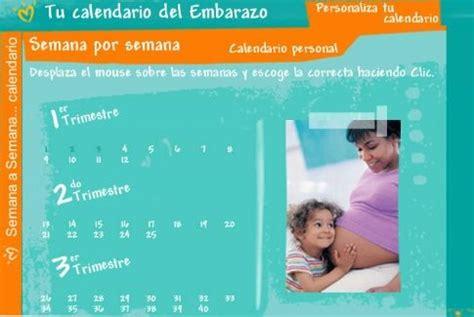 Calendario Embarazo 2008 El Embarazo Calendario