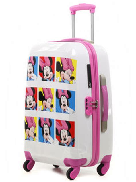 valise enfant disney mikey minnie 60 cm valise rigide 4 roues disney mickey minnie 60 cm pas cher