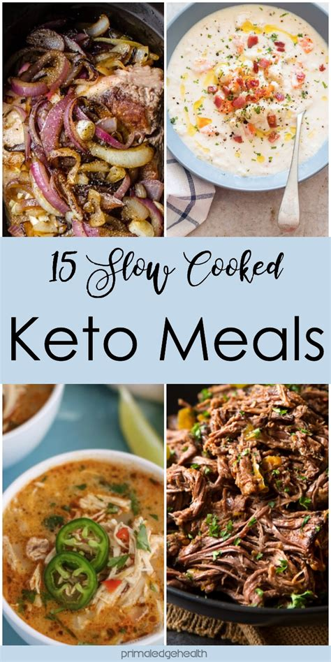 keto cooker one pot meals 100 simple delicious low carb paleo and primal recipes for weight loss and better health books 15 cooked keto meals primal edge health