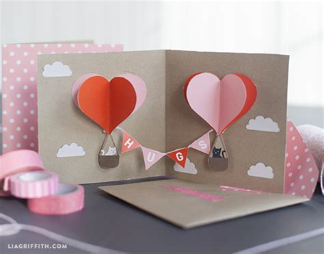 diy popup card template diy pop up s card skip to my lou