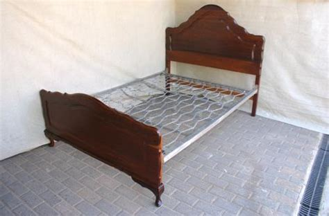 queen anne headboard beds cots imboya queen anne double bed headboard